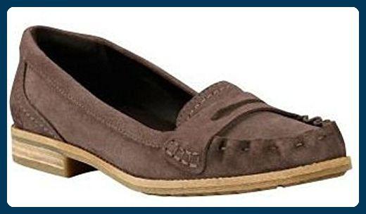 Timberland Thayer Penny Loafer Damen Slipper 3749R Gr. 39, UK 6 - Slipper und mokassins für frauen (*Partner-Link)