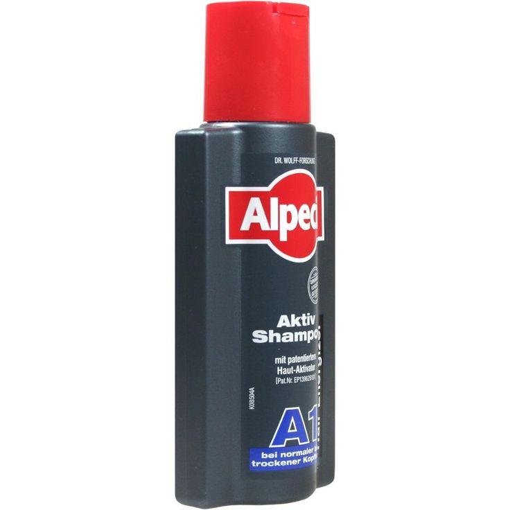 ALPECIN Aktiv Shampoo A1:   Packungsinhalt: 250 ml Shampoo PZN: 01959118 Hersteller: Dr. Kurt Wolff GmbH & Co. KG Preis: 3,66 EUR inkl.…