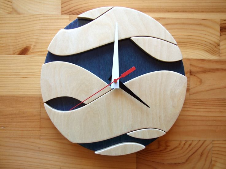 handmade wall clock | You are here: Home > Products > Ocean clock