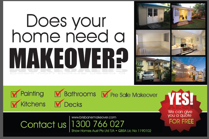 With the interest rate cut, could you save some money to do a renovation at your place ?