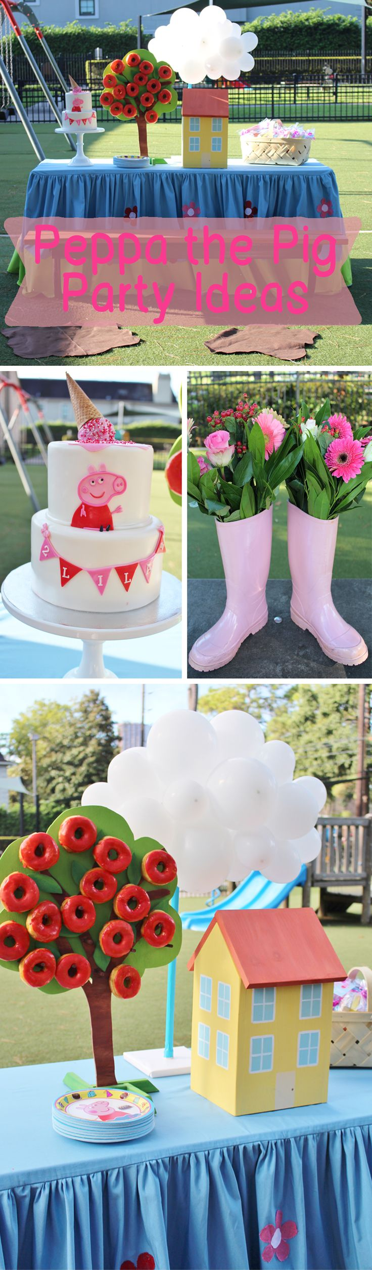 Peppa the Pig Party Ideas, Peppa the Pig Birthday Party, Peppa the Pig Birthday Party Ideas, Peppa the Pig Party, Park Party Ideas