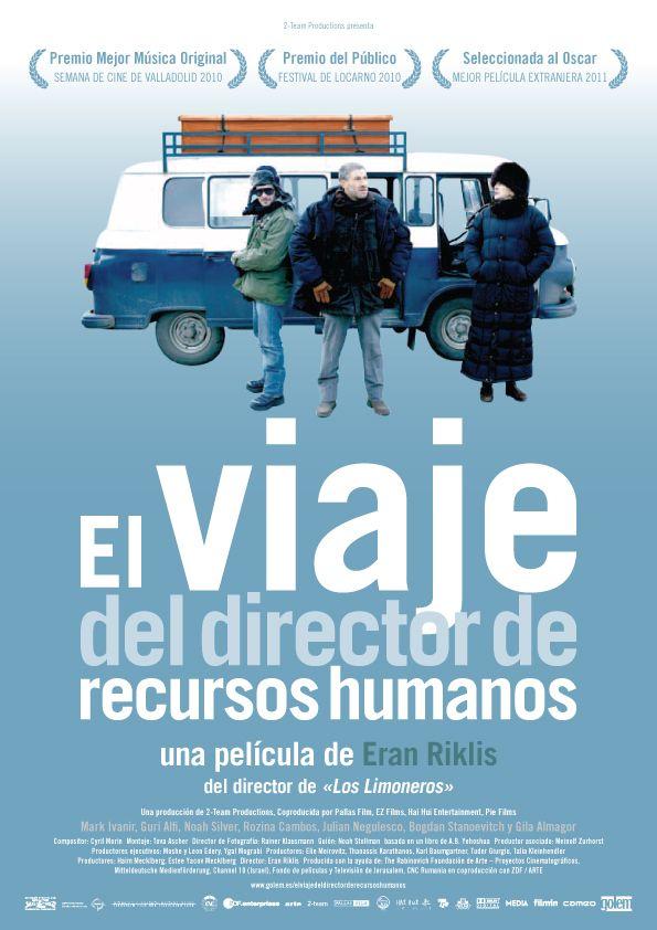 El viaje del director de recursos humanos (2010) Francia. Dir: Eran Riklis. Drama. Comedia. Road Movie. Migración - DVD CINE 2302
