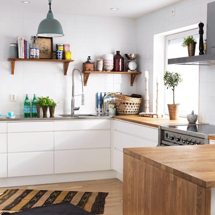 Kjøkkeninspirasjon -  Hvitt kjøkken – Line