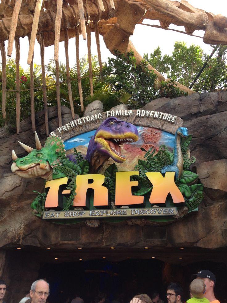 T-Rex Cafe in Lake Buena Vista, FL