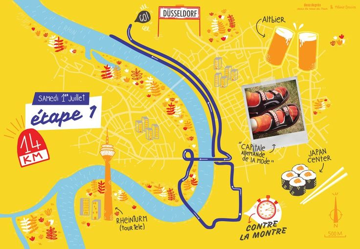 L'étape du 1er Juillet du Tour de France par deux degrés et Mélanie Béguier