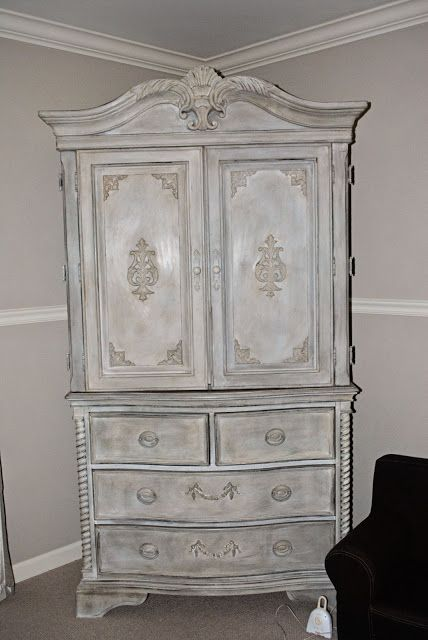 1000 Images About Chalk Paint Armoire On Pinterest