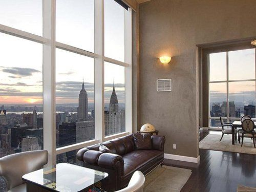Derek jeters new york city penthouse at the trump world towers