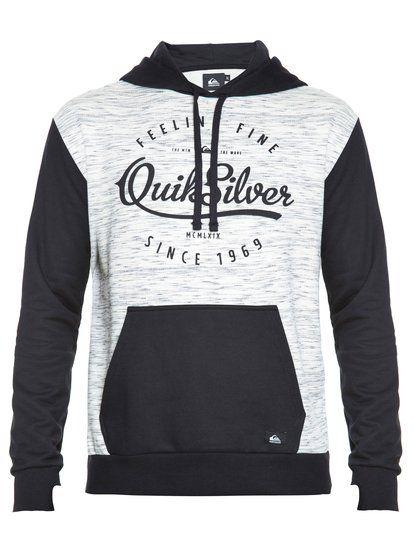 c30c523e34b09 Quiksilver BR65511212Moletom especial fechado masculino City Camisetas  Masculinas
