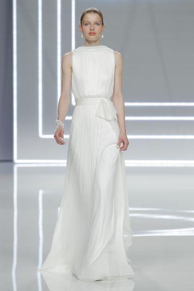 Vestidos de novia para mujeres delgadas 2017: ¡30 diseños espectaculares! Image: 29