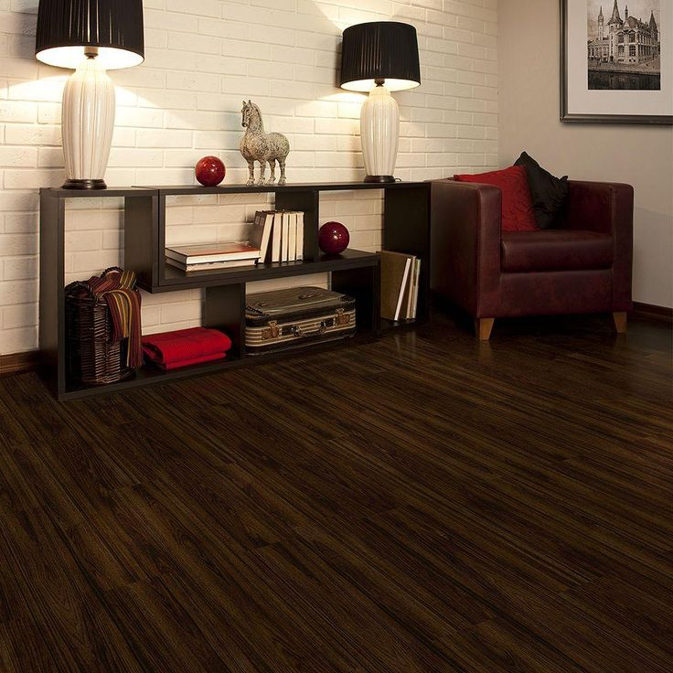 TrafficMASTER Allure 6 In X 36 Iron Wood Luxury Vinyl Plank Flooring 24 Sq Ft Case