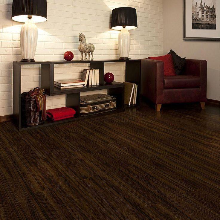 Living Room Ideas With Dark Brown Leather Furniture Paula Deen Sofas Trafficmaster Allure 6 In. X 36 Iron Wood Luxury Vinyl ...