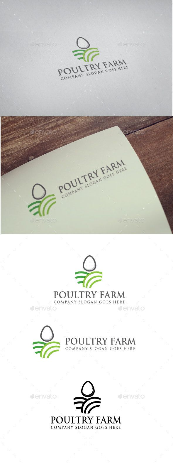 Poultry Farm logo by Goodigital Features: - eps and ai FILE - CMYK 300 DPI - FREE FONT USED - LAYERS ORGANIZED FONT trajan Asap Download: http://www.fontpalace.co