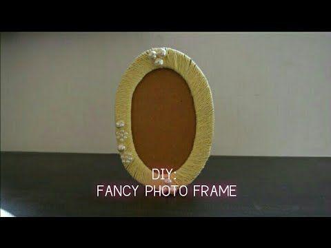DIY: Fancy Photo Frame - YouTube