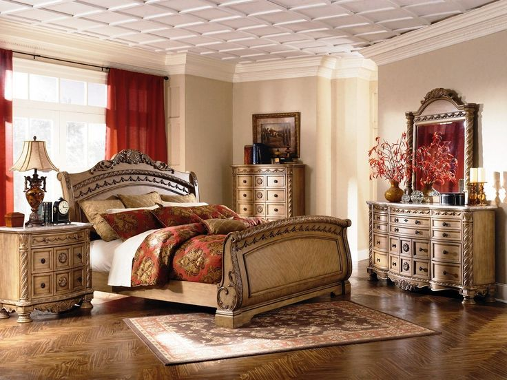Ashley Greensburg King Sleigh Bed With Storage Ashley Furniture