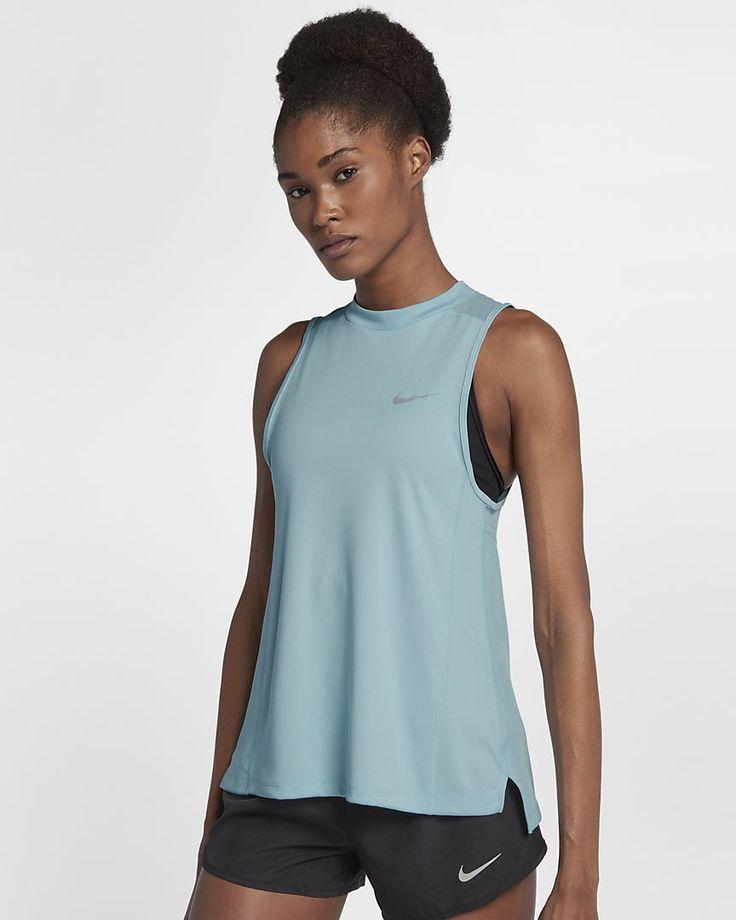 b9f69760b5e4c Nike Dri-FIT Miler Women's Running Tank | Activewear | Running women,  Running tanks, Athletic tank tops