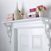 shelf over the door