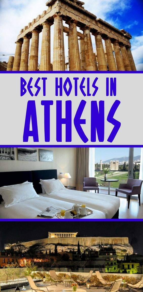 The main attractions of Athens are all located in the historic center. With this in mind, it makes sense to stay in one of the hotels near the Acropolis. Here's my guide to the best hotels in Athens to help you plan a trip to Greece. #athens #greece