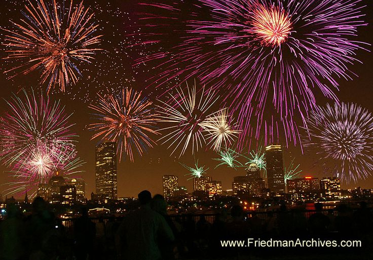 boston fireworks on july 4th