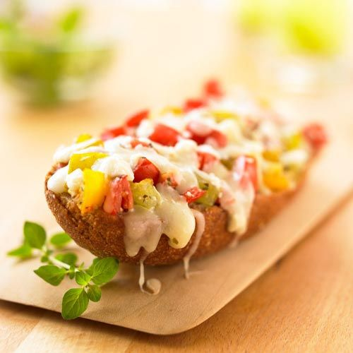 French bread pizza plus 8 more tasty (and healthy!) pizza recipes: http://www.womenshealthmag.com/nutrition/healthy-new-pizza-recipes?cm_mmc=Pinterest-_-womenshealth-_-content-food-_-pizzarecipes