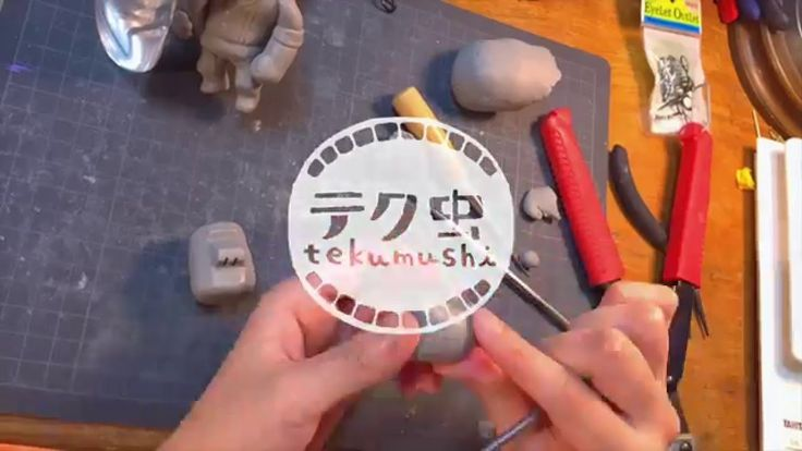 スカルピーでキャラクター制作【田村さんの頭】