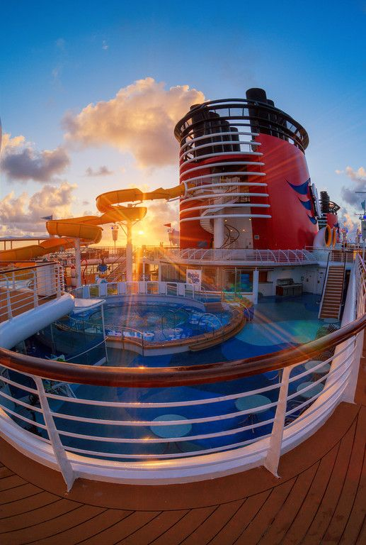Disney cruise. Looks like Disney Magic