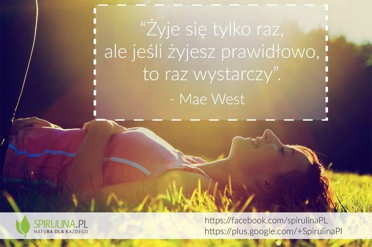 Raz wystarczy :) http://www.spirulina.pl/ #zdrowie #życie #motywacja #spirulina