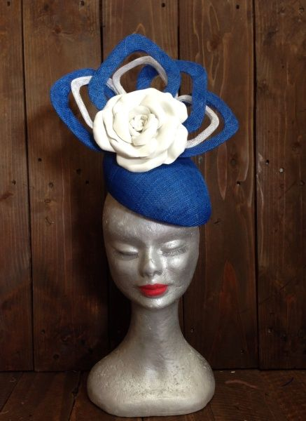 White Rose - Adorn Collection Millinery by MELISSA BARNES #millinery #hats #HatAcademy