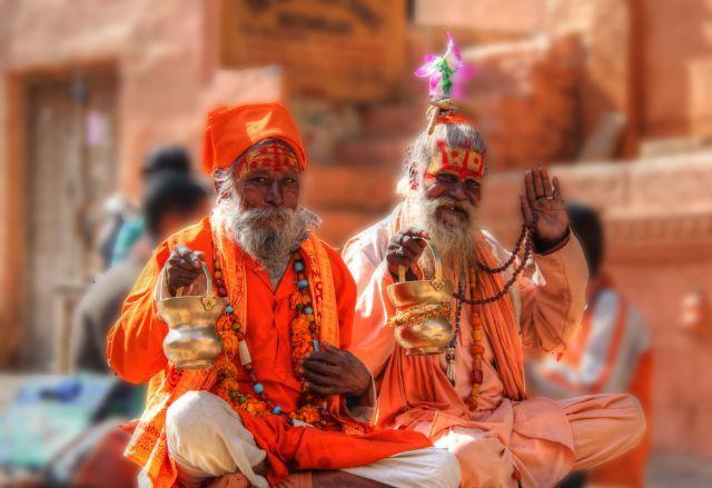 Jaisalmer, Rajasthan, święci, INDIE