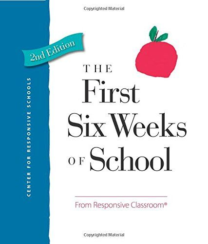 The First Six Weeks of School: Amazon.es: Center For Responsive Schools, Mike Anderson: Libros en idiomas extranjeros
