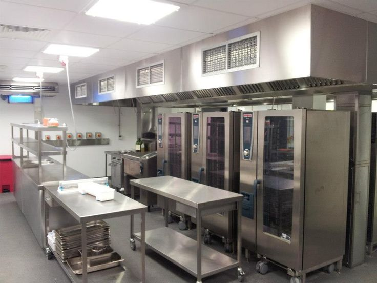 Commercial Kitchen Equipment Design