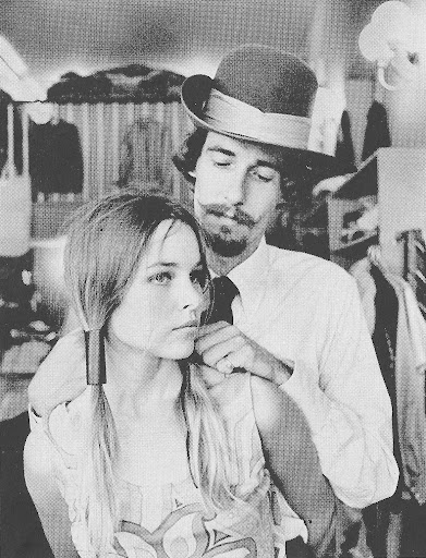 John and Michelle Phillips of The Mamas And The Papas