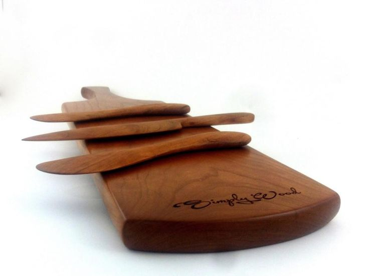 Cherry cheese/bread board by Thomas