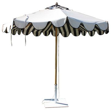 Santa Barbara Unbrella - Santa Barbara makes the most beautiful umbrellas! They can be purchased through www.jamieshop.com at designer whole...