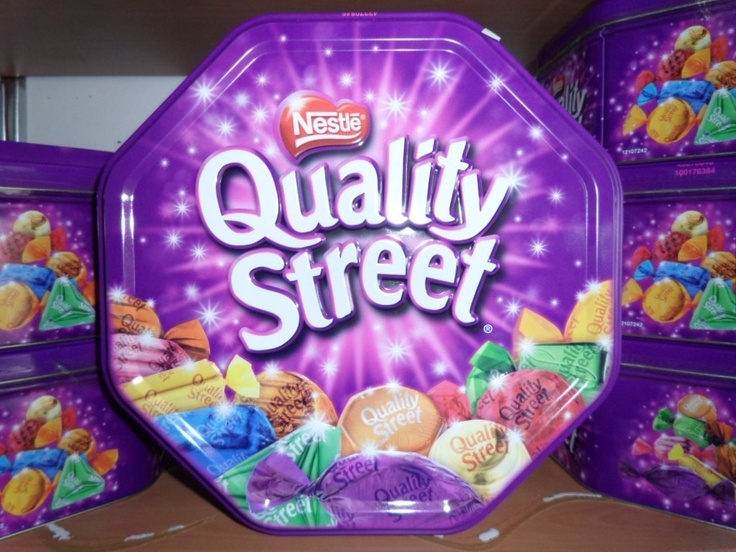 Quality street chocolates