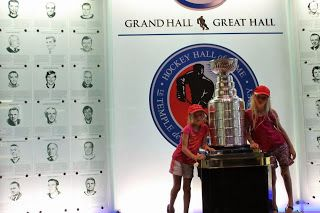 Fun things to do with kids: Hockey Hall of Fame - Toronto