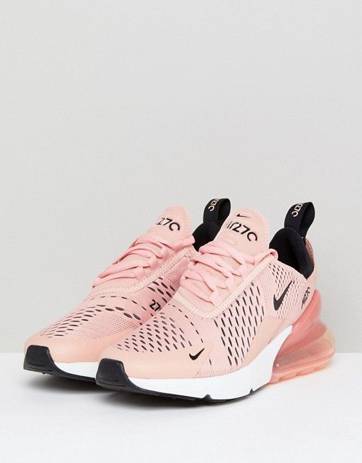 0ced1c2a3a86e Nike Air Max 270 Trainers In Pink