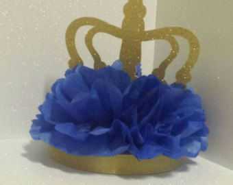 Royal Little Prince Royal Baby shower or Birthday Party table