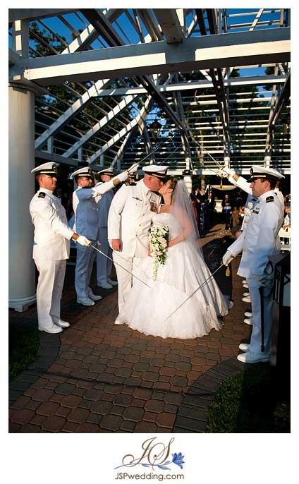 Haddam Ct Modern Jewish Wedding Military Style