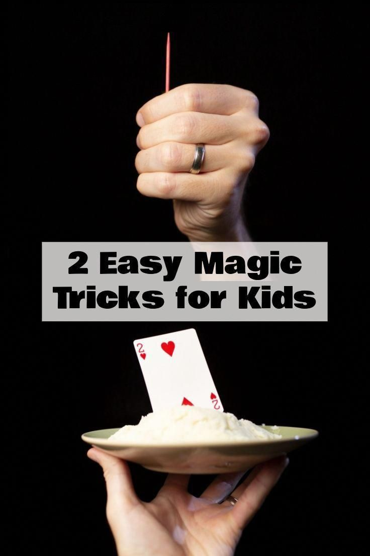 Gentle Diy Magic Tricks Magic Tricks For Kids