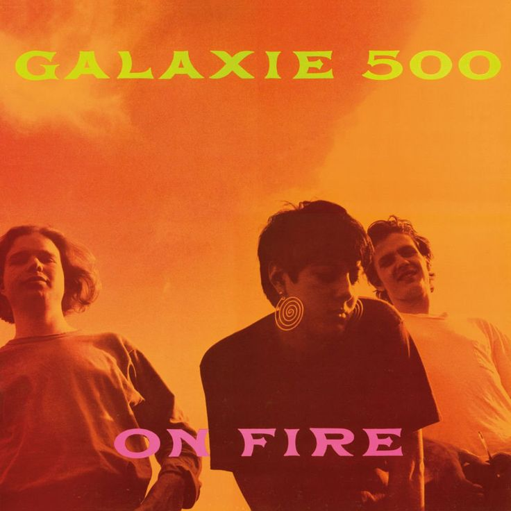 Cover art for American alternative band Galaxie 500's second studio album On Fire, released by Rough Trade Records, United States, 1989, photograph by Naomi Yang.