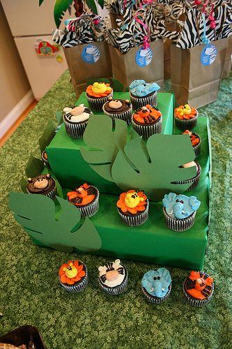 Best 25 Jungle Theme Cupcakes Ideas On Pinterest Zoo