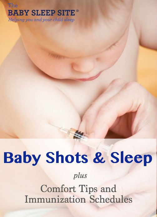 Baby Shots Or Vaccines Or Immunizations And Sleep