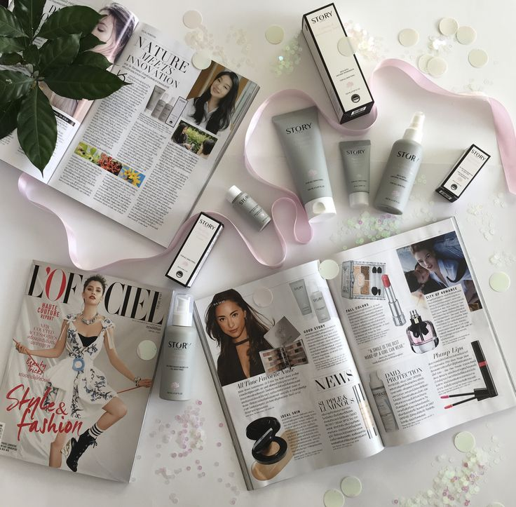 Yay! Story Seoul Skincare has been selected and highlighted in L'Officiel French Fashion Magazine for October 2016 issue. Oh Yeah!