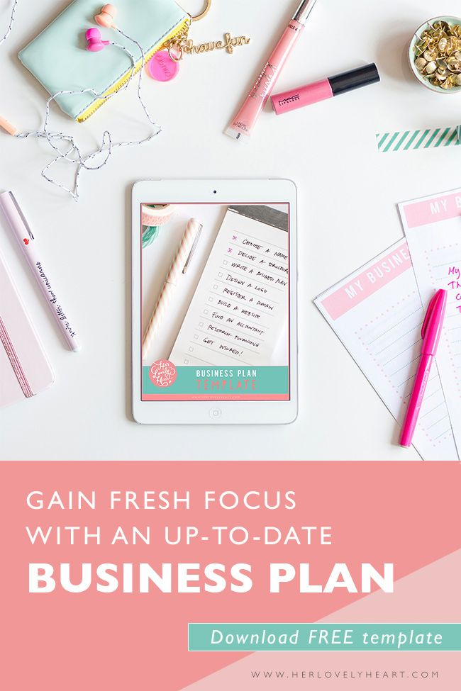 Do you feel like your creative business is running you instead of the other way around? Download our free business plan template and get back on track!