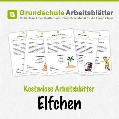 Kostenlose Arbeitsblätter und Unterrichtsmaterial für den Deutsch-Unterricht zum Thema Elfchen in der Grundschule.