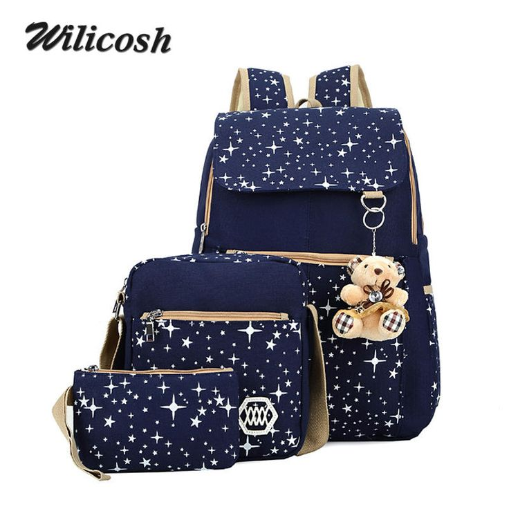 =>Sale on4 Colors Backpacks Brand 3 pieces Sets Women Backpack Star Printing Canvas School Bags for Teenager Girls Shoulder Bag WL10064 Colors Backpacks Brand 3 pieces Sets Women Backpack Star Printing Canvas School Bags for Teenager Girls Shoulder Bag WL1006best recommended for you.Shop the Lowest ...Cleck Hot Deals >>> http://id948526137.cloudns.hopto.me/32703759265.html images