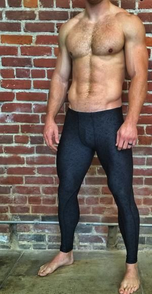 Compression Pant - Men's WEB Design Full Length - WOD Gear Clothing Company - 1