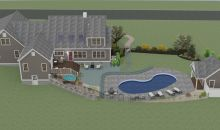 3D Renderings - backyard proposed http://www.gmthomedesigns.com