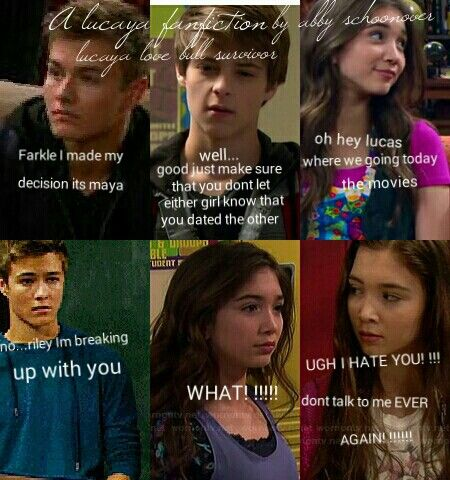 girl meets world lucas and riley pregnant fanfiction The big premiere of girl meets world is so they have a 12 year old girl and cory is now a middle school teacher and his class consists of riley, maya, lucas.