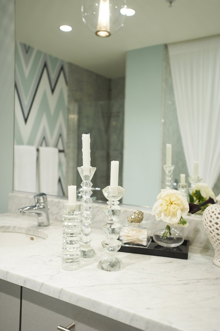 17 best bath accessories images on pinterest bath accessories love the missoni ish chevron wall